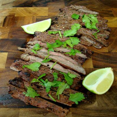 Bifteck de flanc mexicain