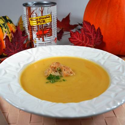 Pumpkin Maple Bisque