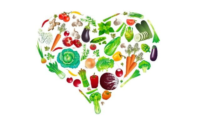 plant based heart